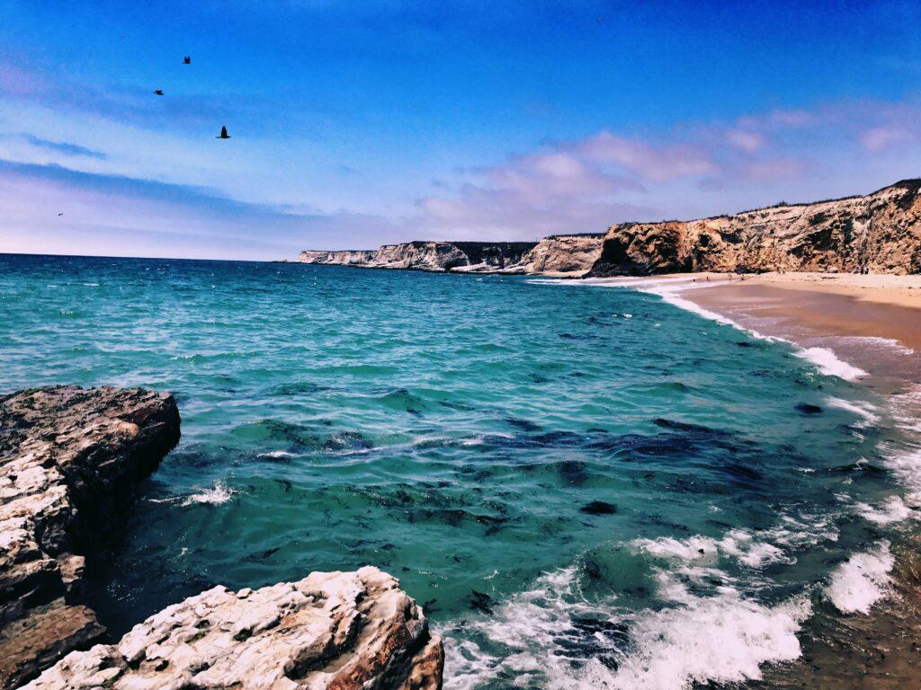 Panther Beach in Santa Cruz California
