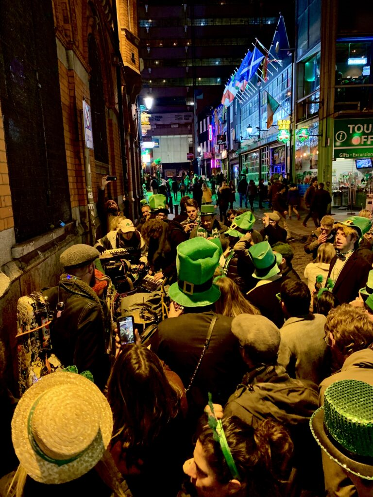 st paddy's in Dublin
