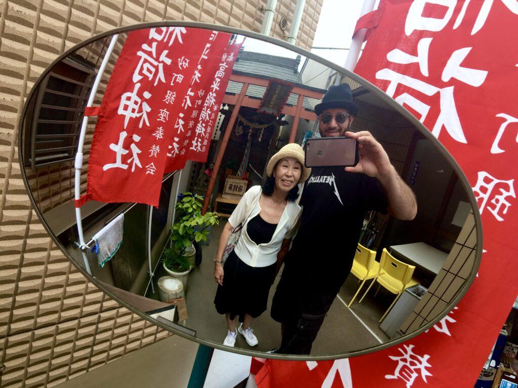 Tokyo walking excursion