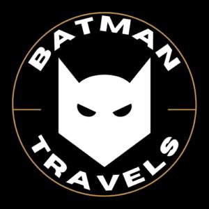 batman travels logo