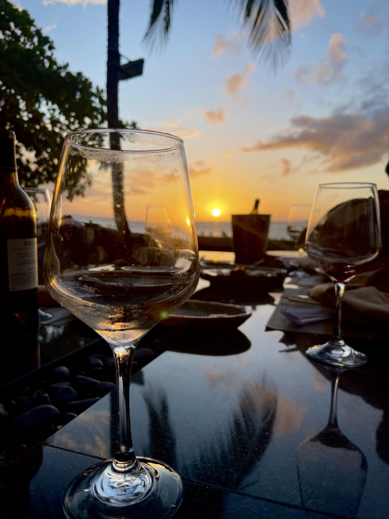 Turks and Caicos Infinity Sunset